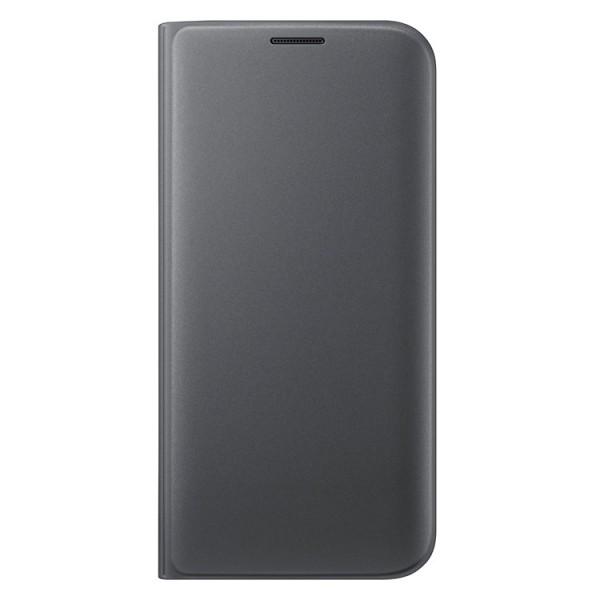 Case Flip Wallet Black για Samsung Galaxy S7 Edge