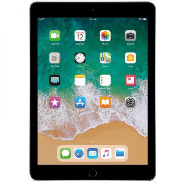 "Apple iPad 9.7"" 2018 Wi-Fi (128GB) Space Grey EU"