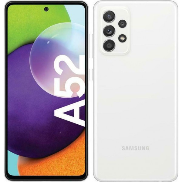 Samsung Galaxy A52 4G (128GB) Awesome White