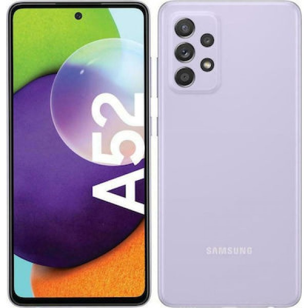 Samsung Galaxy A52 4G (128GB) Awesome Violet
