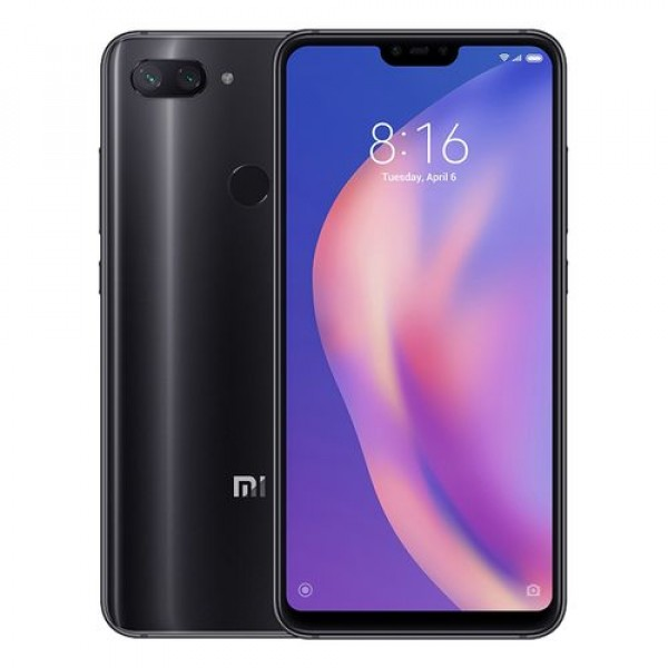 Xiaomi Mi 8 Lite 4GB/64GB (2018) Dual Sim (Ελληνικό menu-Global Version) Midnight Black EU