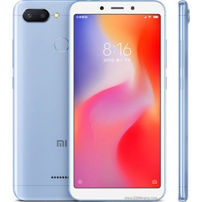 Xiaomi Redmi 6 (3GB/32GB) Dual Sim (Ελληνικό menu-Global Version) Blue EU