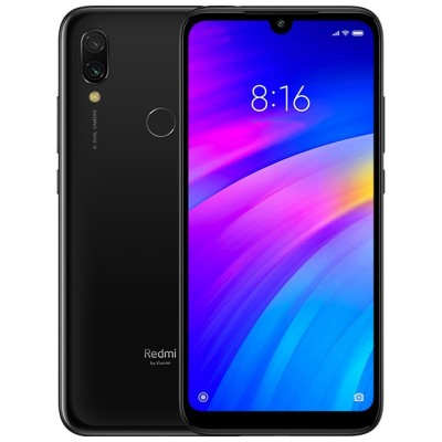 Xiaomi Redmi 7 (3GB/32GB) Dual Sim (Ελληνικό menu-Global Version) Black EU