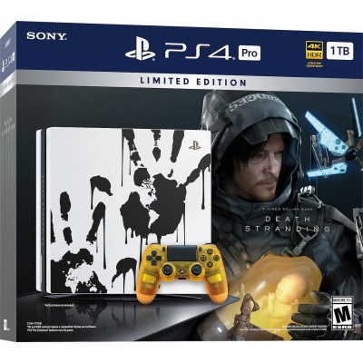 Sony PlayStation 4 Pro 1TB & Death Stranding Limited Edition