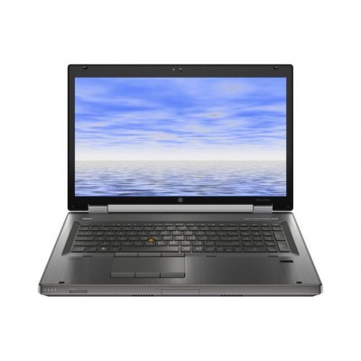 "HP 8760W I5-2520M 2.50GHZ 17.3"" 120SSD/160HDD REF"
