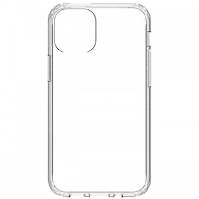 Premium Silicone Case Clear Iphone 12 Pro Max
