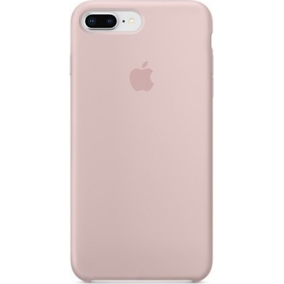 Premium Silicone Case Gold Sand iPhone 7/8 Plus