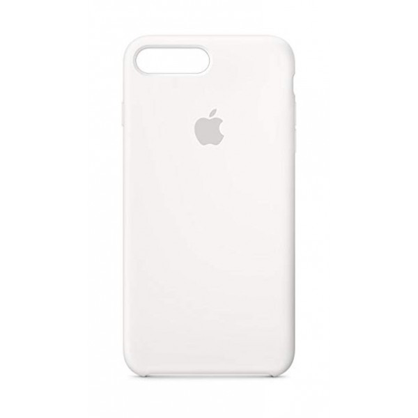 Premium Silicone Case White iPhone 7/8 Plus