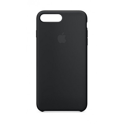 Premium Silicone Case Black iPhone 7/8 Plus