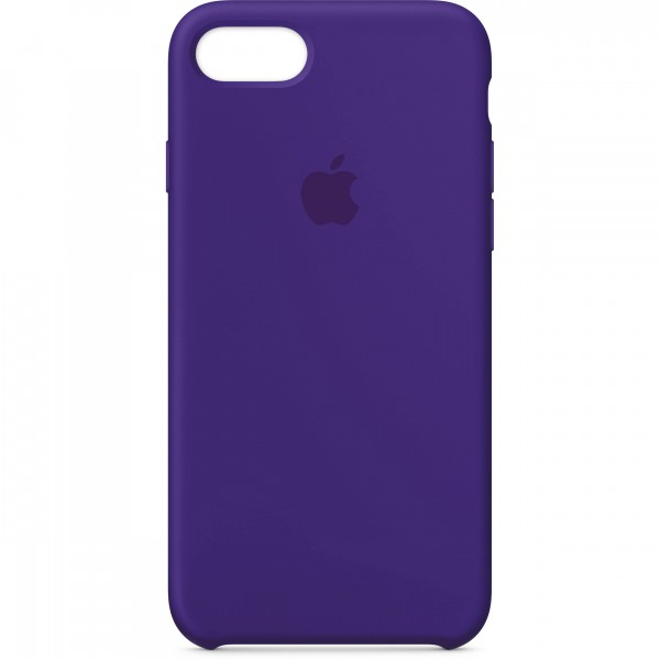 Premium Silicone Case Purple iPhone 7/8