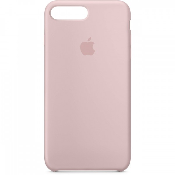 Premium Silicone Case Pink Sand iPhone 7/8 Plus