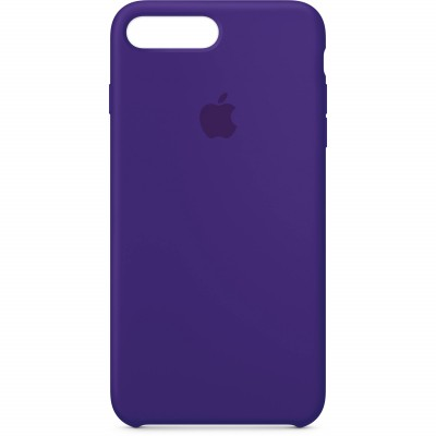 Premium Silicone Case Purple iPhone 7/8 Plus