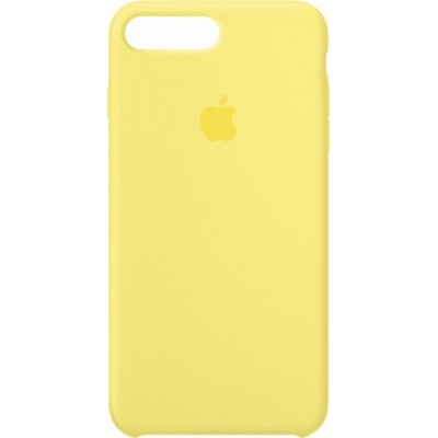 Premium Silicone Case Yellow iPhone 7/8 Plus