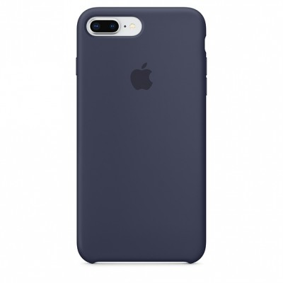 Premium Silicone Case Midnight Blue iPhone 7/8 Plus