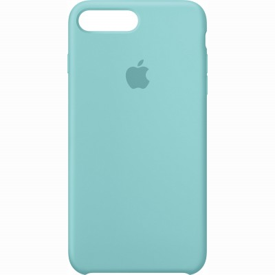 Premium Silicone Case Blue Coral iPhone 7/8 Plus