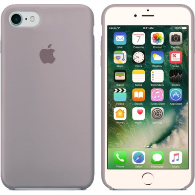 Premium Silicone Case Lavender iPhone 7/8