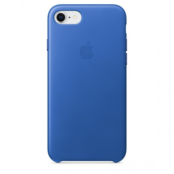 Premium Silicone Case Blue Sea iPhone 7/8