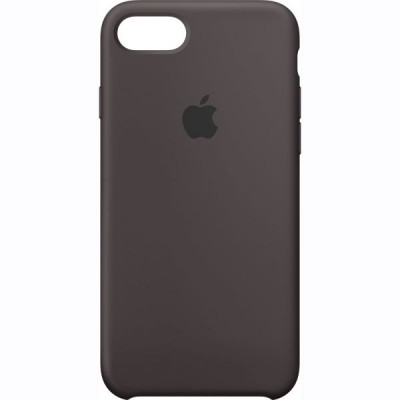 Premium Silicone Case Black iPhone 7/8