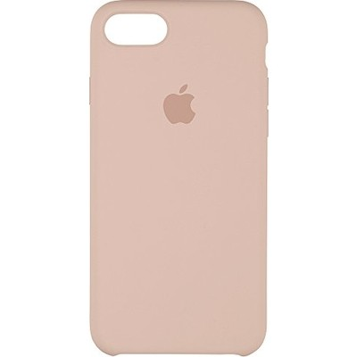 Premium Silicone Case Pink Sand iPhone 7/8