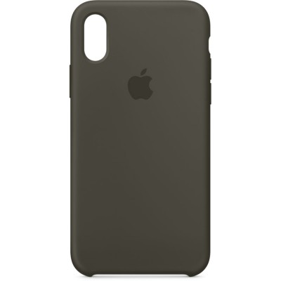 Premium Silicone Case Space Grey iPhone X/XS