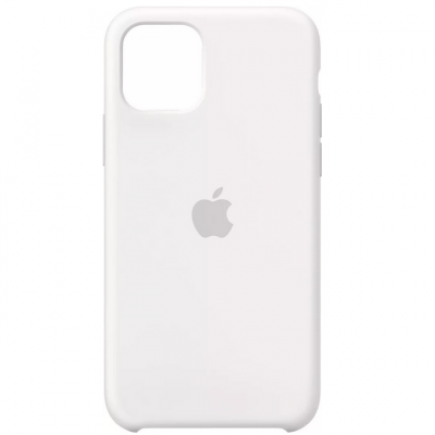 Premium Silicone Case White (iPhone 11)