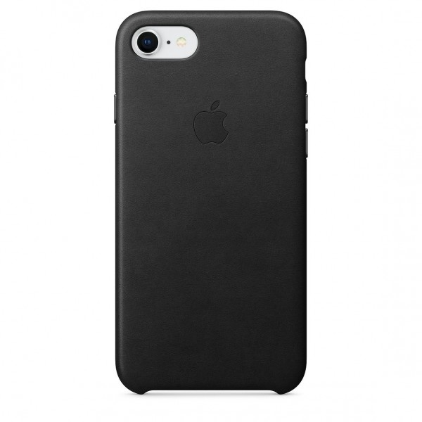 Apple Leather Case Black (iPhone 7/8)