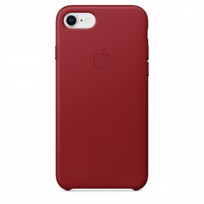 Apple Leather Case Product Red (iPhone 7/8)