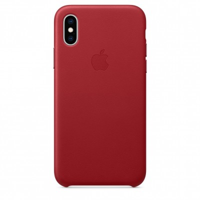 Apple Leather Case Product Red (iPhone X/XS)