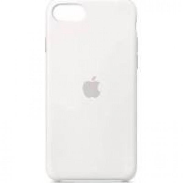 Premium Silicone Case White iPhone 6s