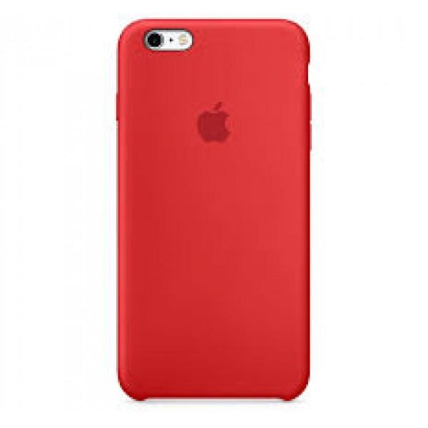 Premium Silicone Case Red iPhone 6s