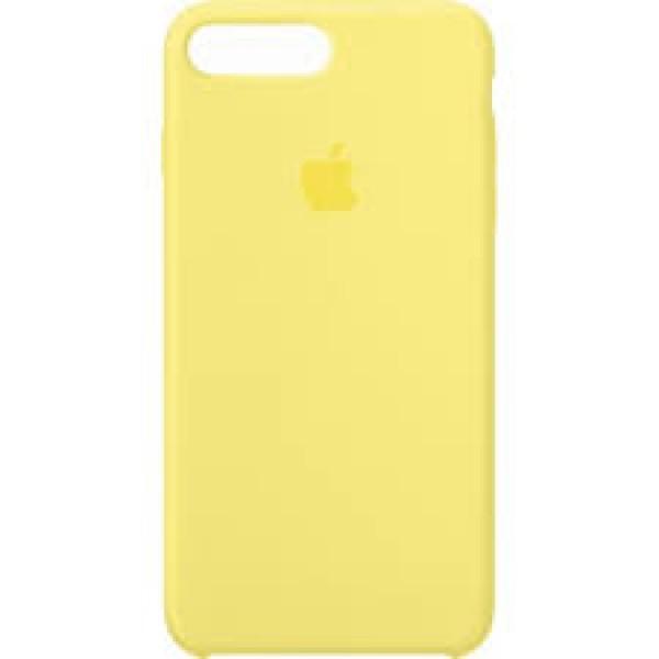 Premium Silicone Case Yellow iPhone 7/8 Plus