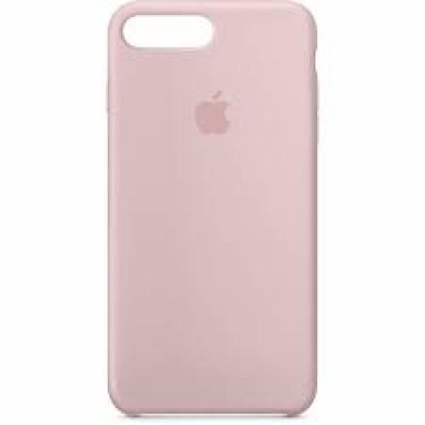 Premium Silicone Case Pink Sand iPhone 7/8 Plus