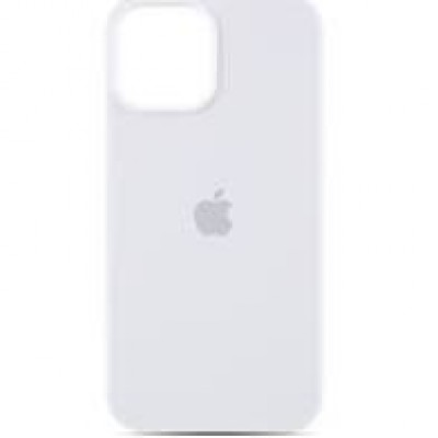 Premium Silicone Case White iPhone 12/12 Pro