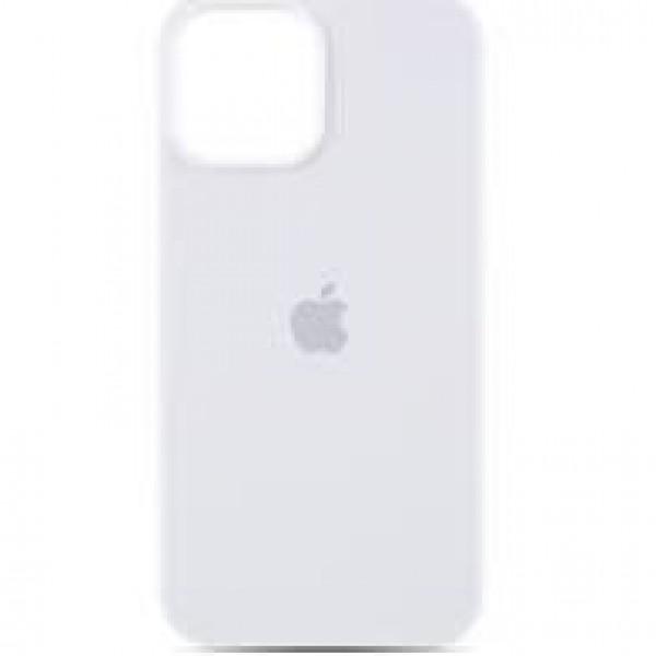 Premium Silicone Case White iPhone 12/12 Pro