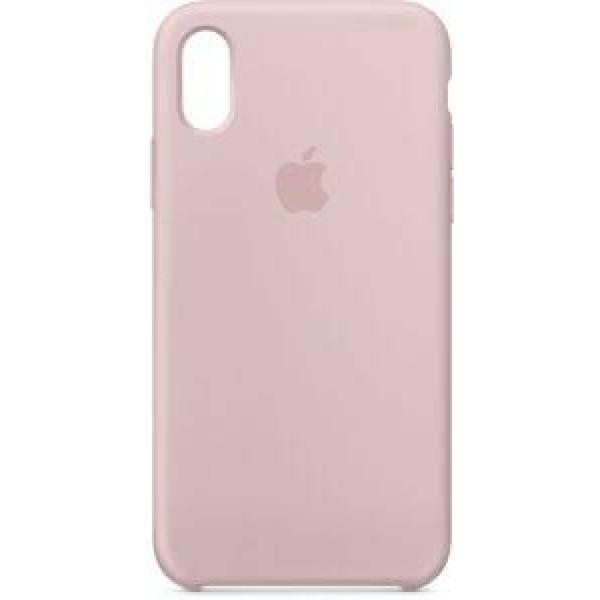 Premium Silicone Case Pink Sand iPhone XR