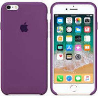Premium Silicone Case Purple iPhone 6s