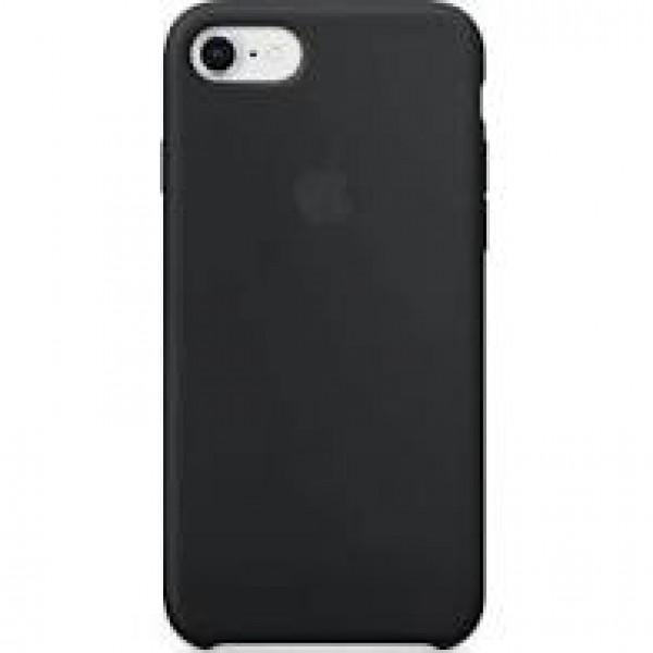 Premium Silicone Case Black iPhone 6s