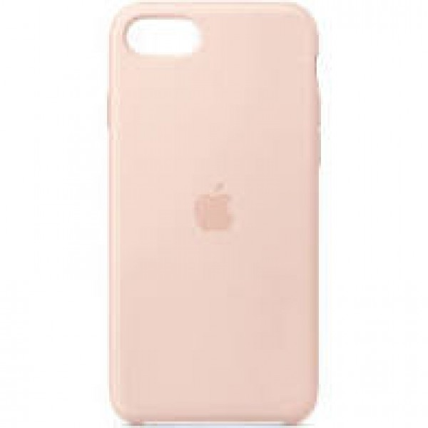 Premium Silicone Case Pink iPhone 7/8