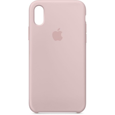Premium Silicone Case Pink iPhone X/XS