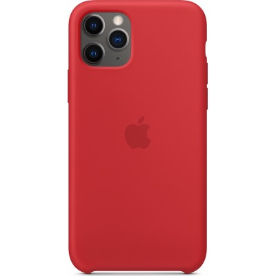 Premium Silicone Case (Product)Red (iPhone 11 Pro)