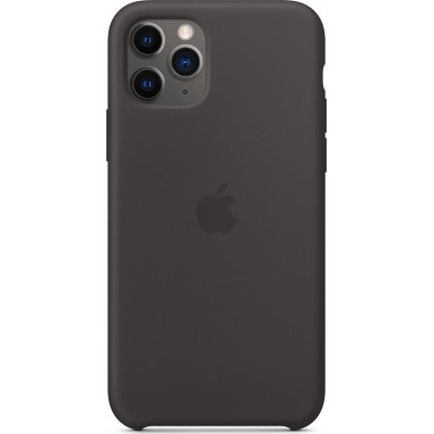 Premium Silicone Case Black (iPhone 11 Pro)