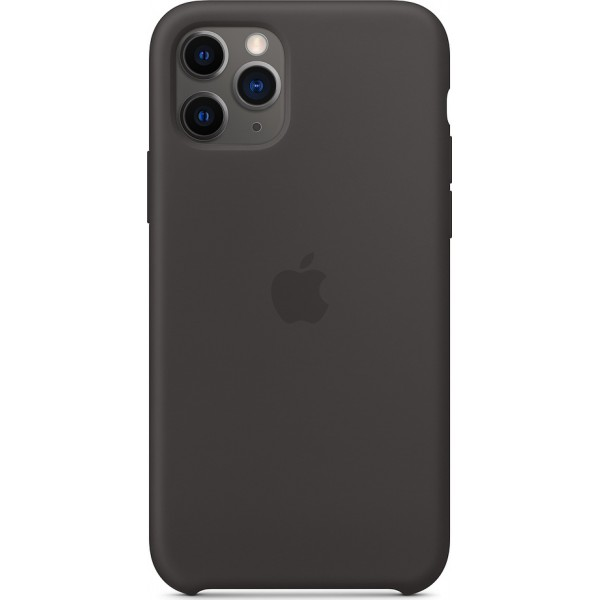 Premium Silicone Case Black (iPhone 11 Pro)