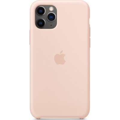 Apple Silicone Case Pink Sand (iPhone 11 Pro)