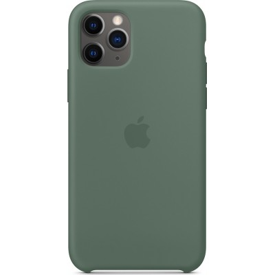 Premium Silicone Case Pine Green (iPhone 11 Pro)