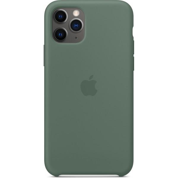 Premium Silicone Case Pine Green (iPhone 11 Pro)
