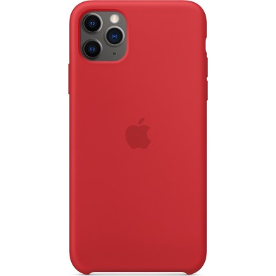 Premium Silicone Case (Product)Red (iPhone 11 Pro Max)