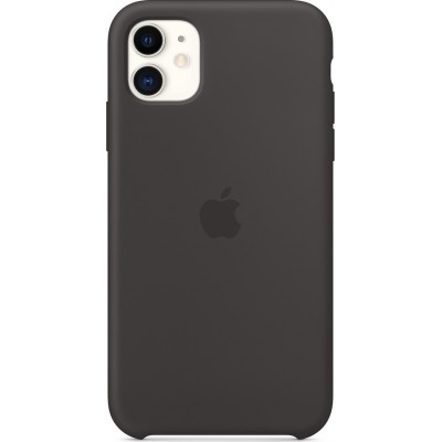 Premium Silicone Case Black (iPhone 11)