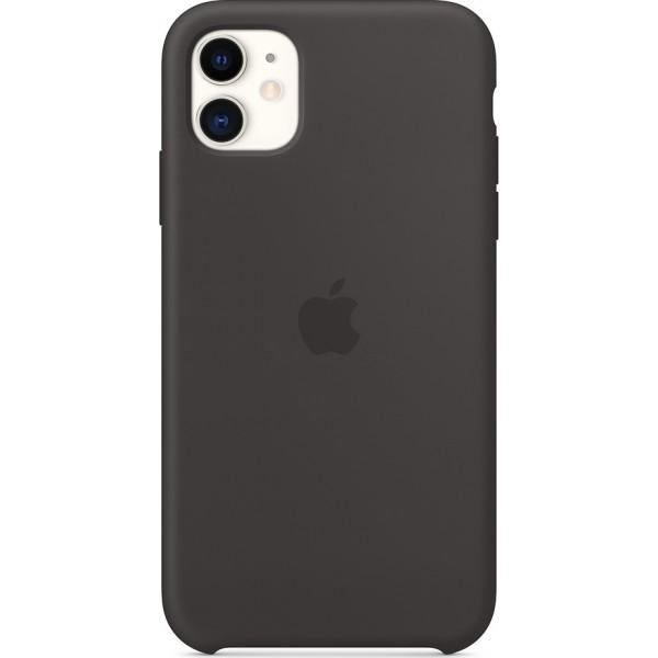 Premium Silicone Case Black (iPhone 11)
