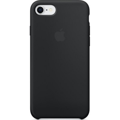 Apple Silicone Case Black (iPhone 7/8)