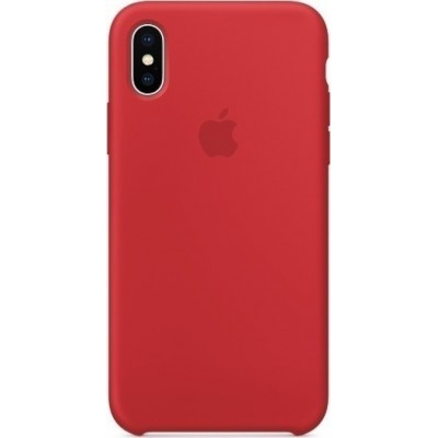 Apple Silicone Case (Product)Red (iPhone X)